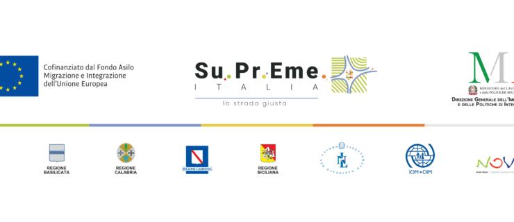 SU.PR.EME Italia : superare insieme le emergenze!