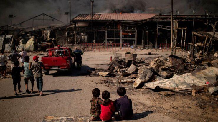 Il centro di Moria: situazione critica, prima e dopo. Call to Action: firma la petizione