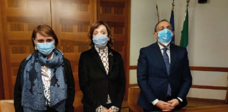 Al Ministero della Salute sottoscritto accordo tra Ministero dell'Interno e INMP